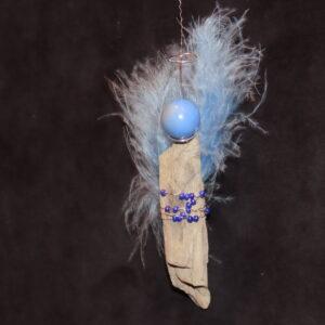 fliegend hellblau